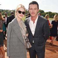 Emma Stone and Luke Evans