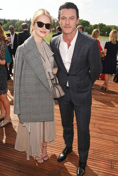 Emma Stone and Luke Evans