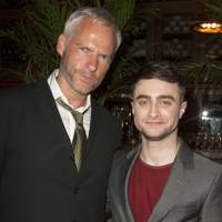 Martin McDonagh and Daniel Radcliffe