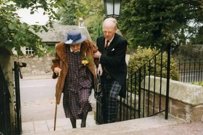 Mrs Alec Tulloch and Ian Tulloch