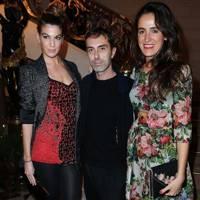 Bianca Brandolini, Giambattista Valli and Coco Brandolini