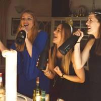 Gayle Telford, Alexandra Strachan and Char Tongue