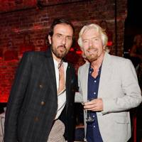 Andreas Kronthaler and Sir Richard Branson