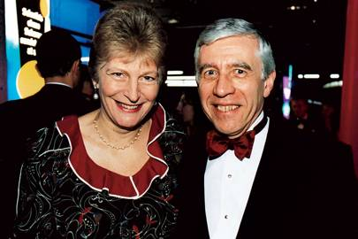 Mrs Jack Straw and Jack Straw