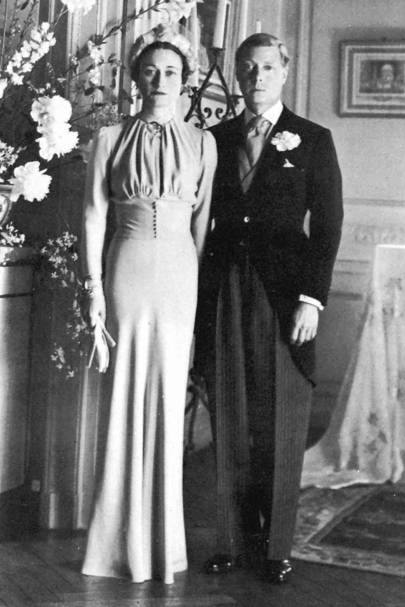 The Duke of Windsor's marriage to Wallis Simpson, 1937