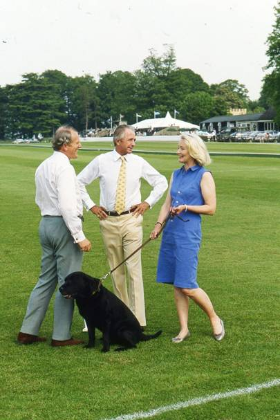Robert ffrench Blake, Geoffrey Kent and Mrs Robert ffrench Blake