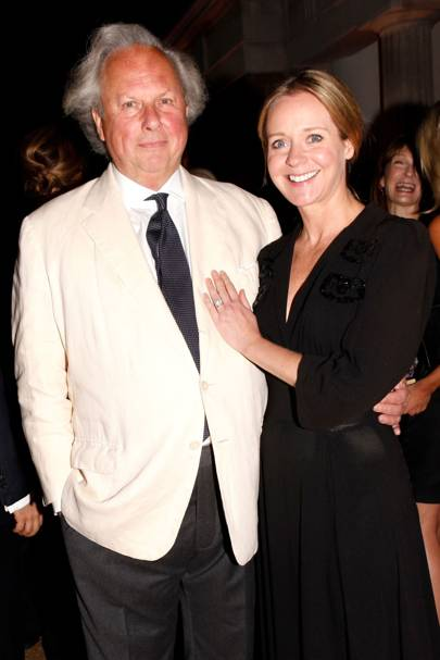 Graydon Carter and Kate Reardon