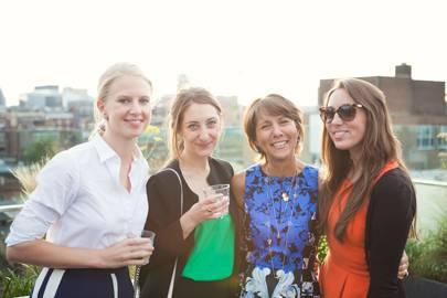 Georgina Blackwell, Olivia Sharpe, Dulce Packard and Natalie Keigher