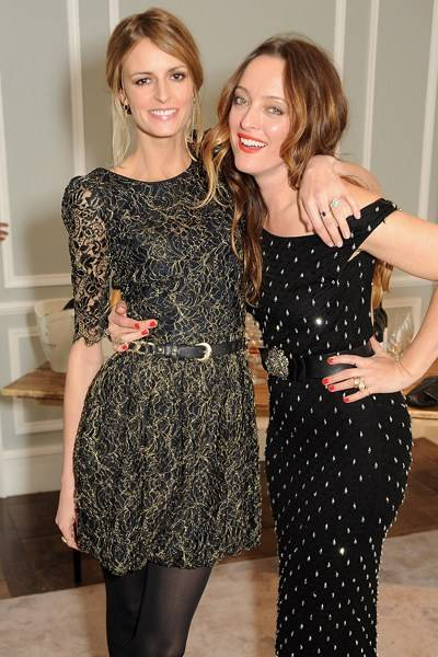 Jacquetta Wheeler and Alice Temperley
