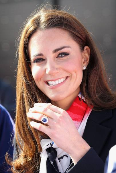 2010 - The Duchess of Cambridge's engagement ring
