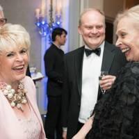 Gloria Hunniford and Merrill Powell