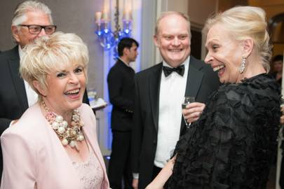 Gloria Hunniford and Merrill Powell
