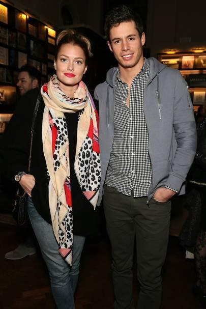 Caroline Receveur and Valentin Lucas