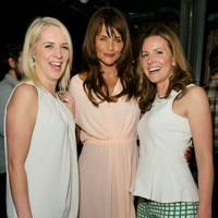 Jen Stevens, Helena Christensen and Sarah Williams
