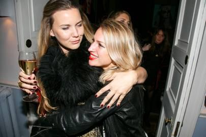 Venetia van Hoorn Alkema and Lauren Park