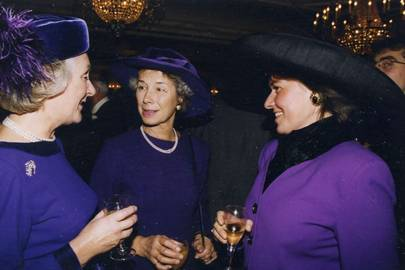 Mrs Charles Smith-Bingham, Mrs Michael Mellhuish and Sarah Elliot-Cohen