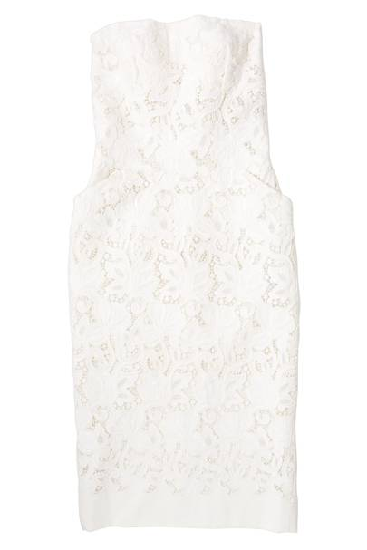 Macrame canvas dress, £2,180, by Ermanno Scervino