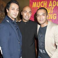Hari Dhillon, Gary Pillai and Adil Ray