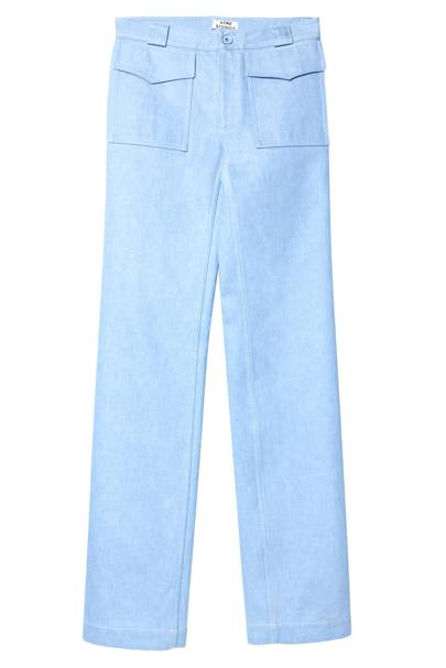 Cotton trousers, £190 by Acne