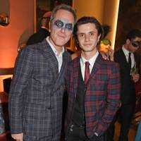 James Nesbitt and Cel Spellman