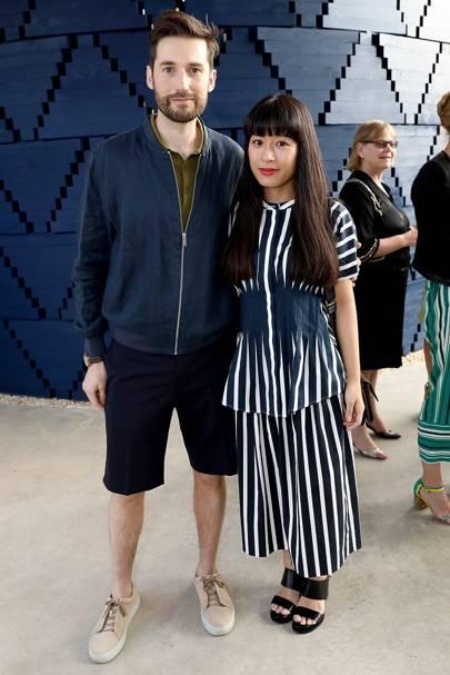 Alex Groves and Azusa Murakami