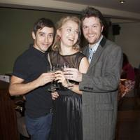 Marc Pickering, Florence Hall and Tom Bennett