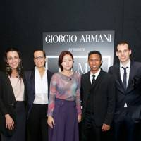 Juliana Valente, Roberta Armani, Go-Eun Kim, Chris Sebastian Joys and Tommaso Bianchi