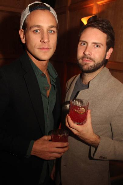 Toby Knott and Tom Slattery