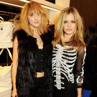 Georgia May Jagger and Suki Waterhouse