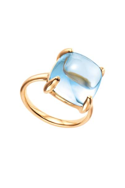 Blue topaz and gold ring, from £550, Tiffany & Co