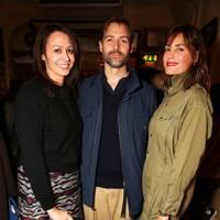 Caroline Rush, Patrick Grant and Yasmin Le Bon