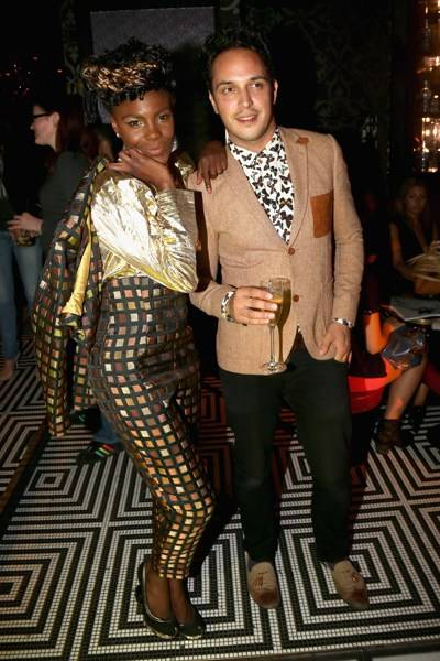 Shingai Shoniwa and Dan Smith