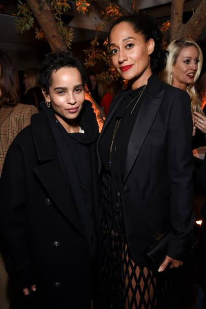 Zoe Kravitz and Tracee Ellis Ross