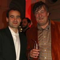 Sam Atiko and Stephen Fry