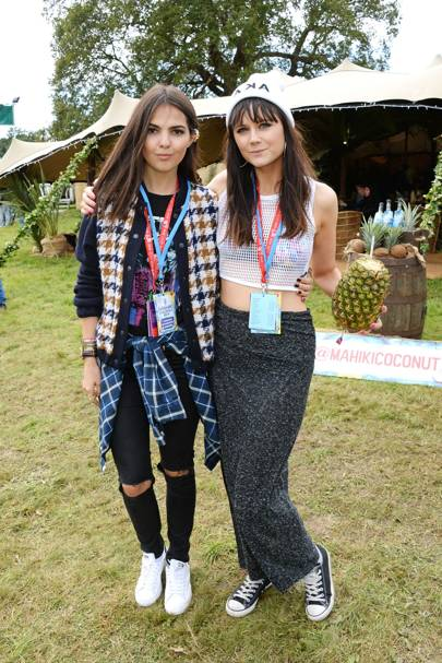 Doina Ciobanu and Lilah Parsons