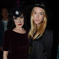 Dita Von Teese and Mary Charteris