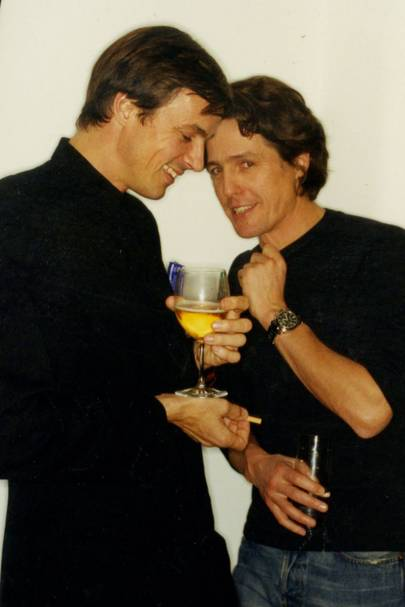 Roddy Campbell and Hugh Grant