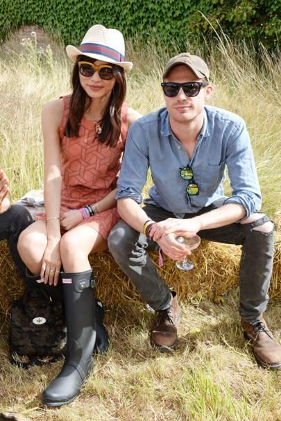 Gemma Chan and Sam Reid