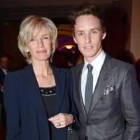 Patricia Redmayne and Eddie Redmayne