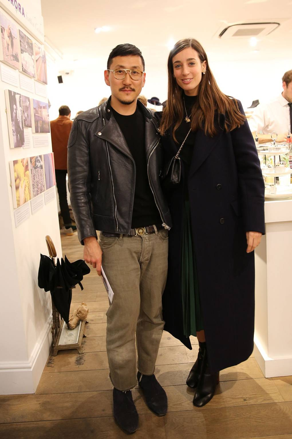 2019 year look- Brora collaborates with Eudon Choi