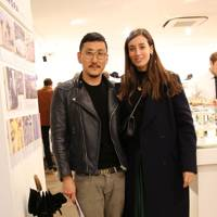 Eudon Choi and Laura Jackson