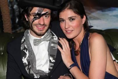Marcy de Soultrait and Stéphanie de Fresnoye