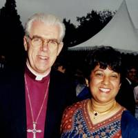 The Bishop of Kensington and Mrs Michael Colclough