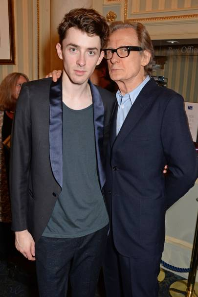 Bill Nighy and Matthew Beard