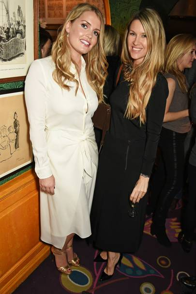 Lady Kitty Spencer and Sadie Mantovani