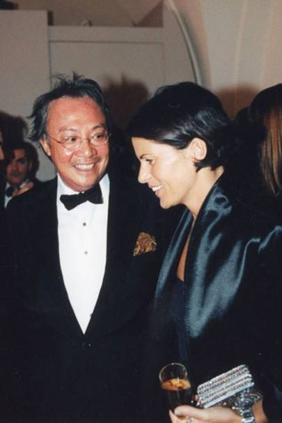 Sir David Tang and Lady Tang, 2013