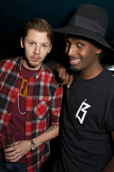 Professor Green and Mason Smillie