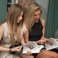 Xenia Tchoumitcheva and Marina Jovanovic