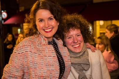 Gabby Deeming and Viola Lanari