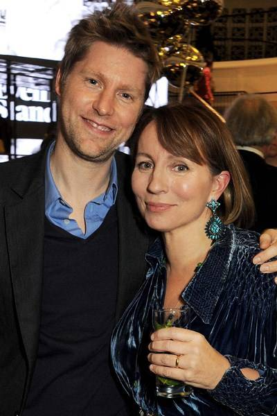 Christopher Bailey and Sarah Sands
